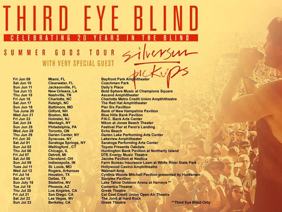 Third eye blind tour dates in Perth